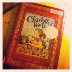 Charlett'e Web by E.B. White (1952)